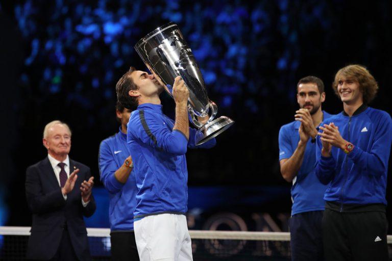 Federer já tem um plano para o pós-carreira: «Adorava ser capitão na Laver Cup»