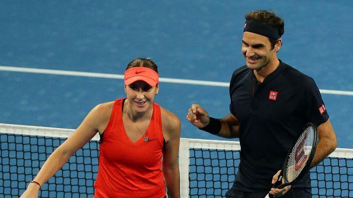 Federer já reagiu com muito orgulho ao feito histórico de Bencic nos Jogos Olímpicos