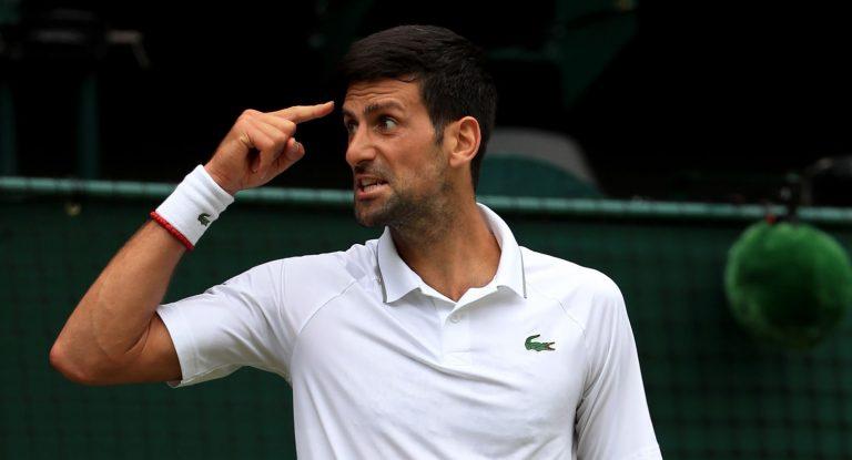 «Djokovic está a ser vítima da sua obsessão de querer ser querido»