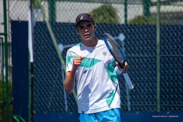 Jaime Faria já está nos oitavos-de-final do Campeonato da Europa de juniores