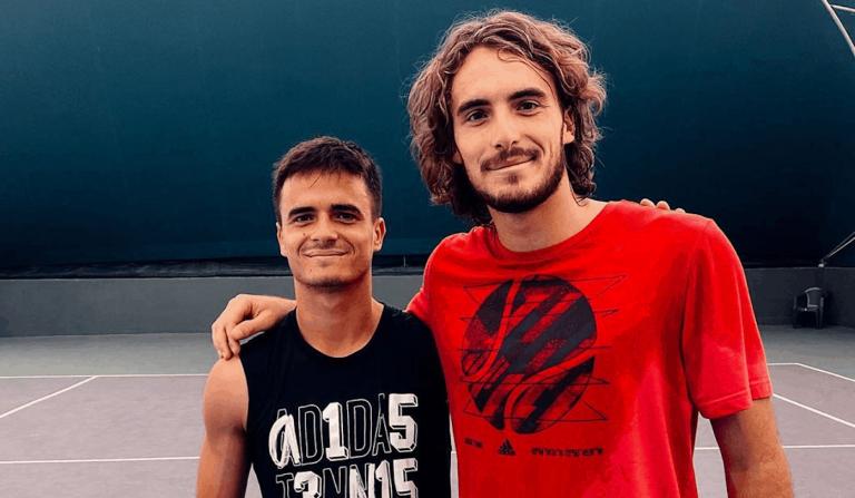Petros Tsitsipas, rei dos wild cards, junta-se ao irmão para disputar Wimbledon em pares