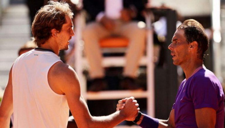 Zverev: «Defrontar o Nadal na final de Roland Garros é ainda mais difícil que em rondas anteriores»