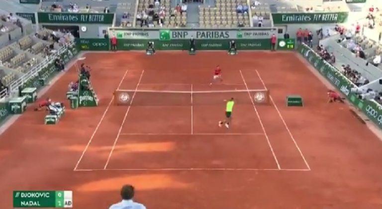 [VÍDEOS] Nadal está a dar show contra Djokovic em Paris