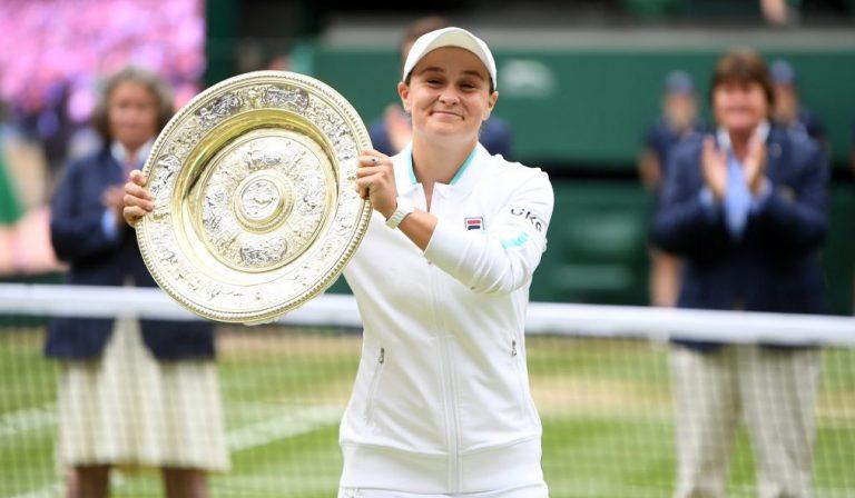 Barty e o inédito título de Wimbledon: «Não dormi muito, só pensava como entrar neste court»