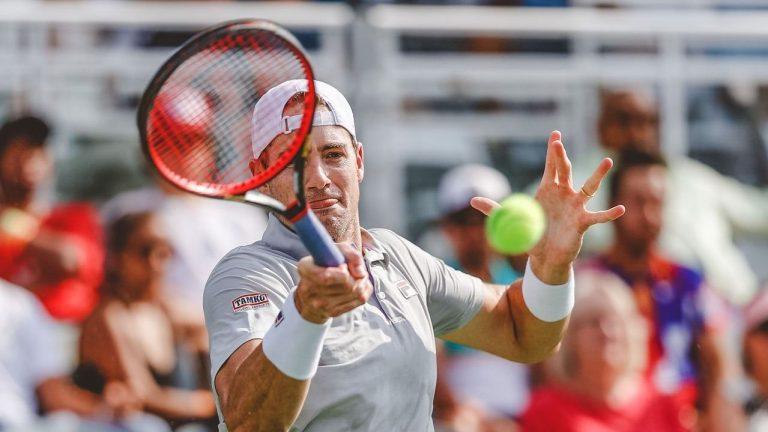 Isner faz história e junta-se ao clube onde só estão… Federer, Nadal e Djokovic