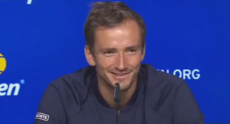 Medvedev explica como Hamilton, Verstappen e até o Liverpool o ajudaram a ganhar o US Open