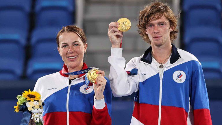 Todas as contas dos Jogos Olímpicos: Rússia sai por cima no medalheiro do ténis