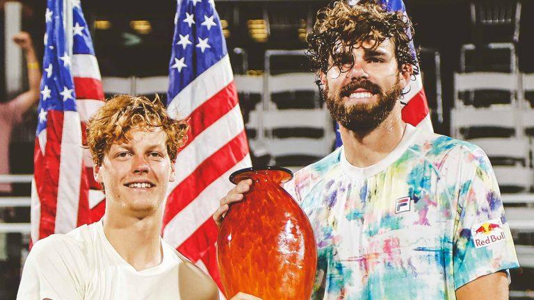 Dupla improvável dá frutos: Sinner e Opelka conquistam torneio de pares em Atlanta