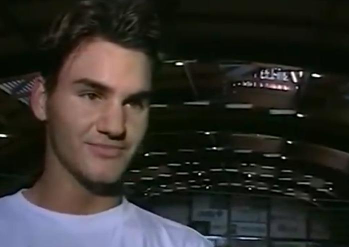 Onde estava neste dia há 23 anos? Federer tinha 17 anos e venceu o primeiro encontro ATP da vida