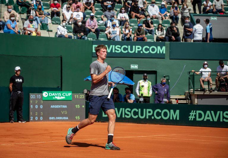 CHOQUE! Schwartzman perde com miúdo de 18 anos sem ranking na Taça Davis em Buenos Aires