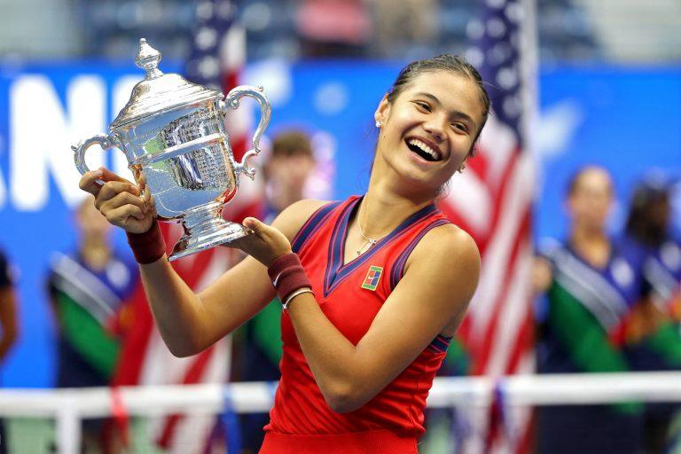 E quando o primeiro título da carreira é um Grand Slam? A história de Raducanu… e mais quatro