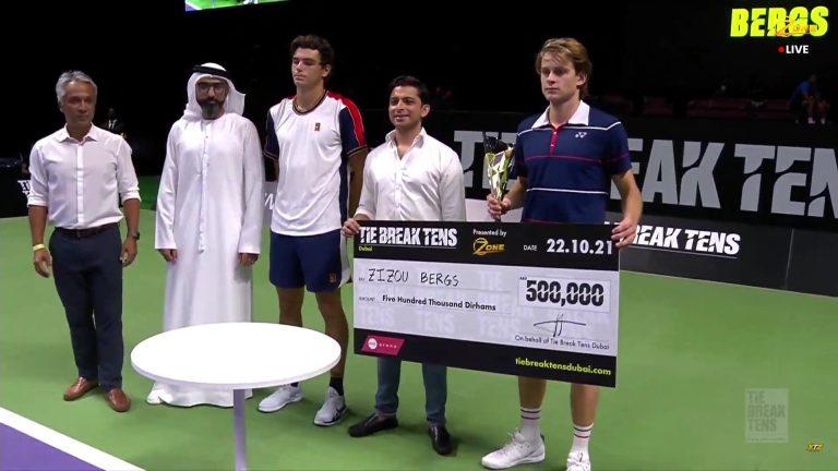 Chamado de última-hora, Bergs bateu Monfils e Fritz para ganhar meio milhão no Dubai