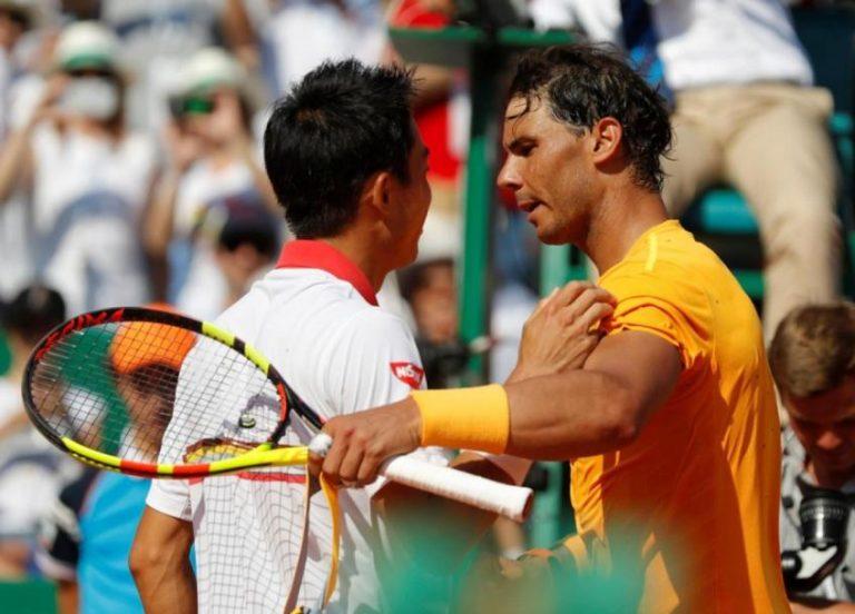 Nadal: «Nishikori era top 5 e estaria sempre em meias-finais de Grand Slams sem as lesões»